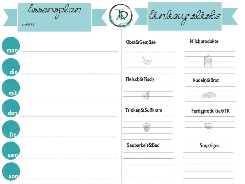 einkaufsliste Archives - the-anna-diaries.de