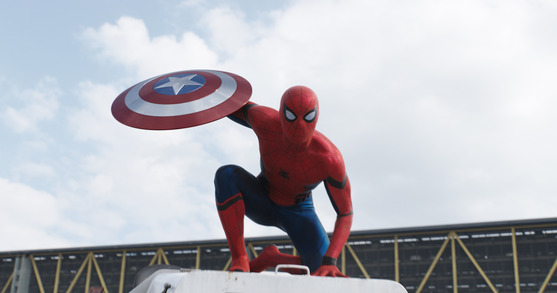 Tom Holland als Spiderman - Copyright Disney Pictures