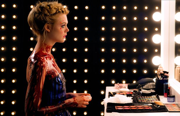 'Mirrors are everywhere…' Elle Fanning as Jesse, the 16-year-old ingenue seduced into a narcissistic underworld in The Neon Demon. Photograph: Allstar