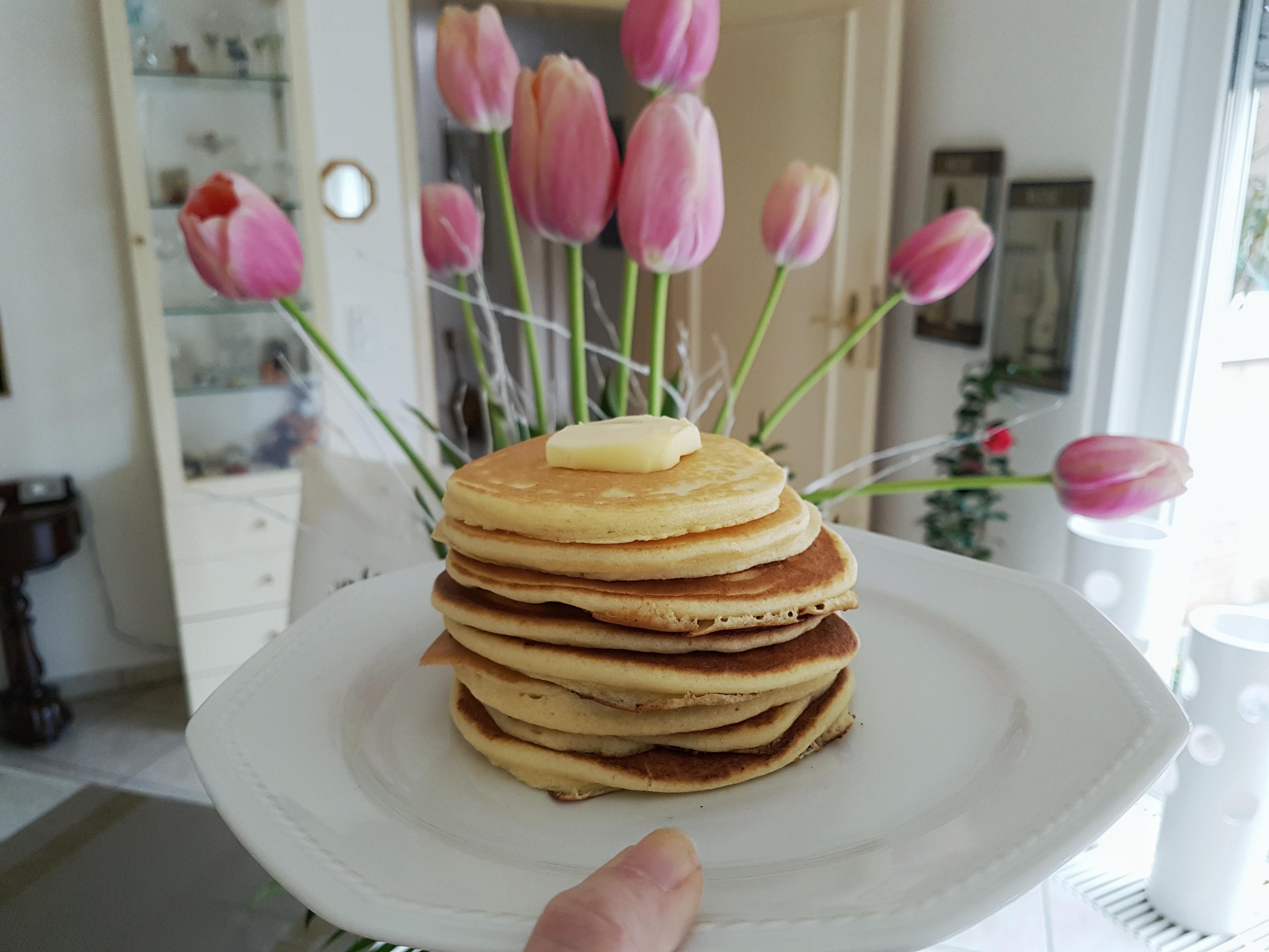 Fluffige Amerikanische Pancakes The Anna Diaries De
